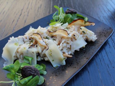 Risotto shiitake seentega