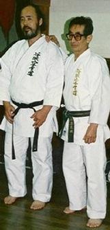 Master Kimura with Respected Grand Master Soke Chojiro Tani