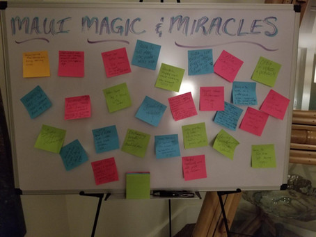 50 Magical Things Experienced on Retreat