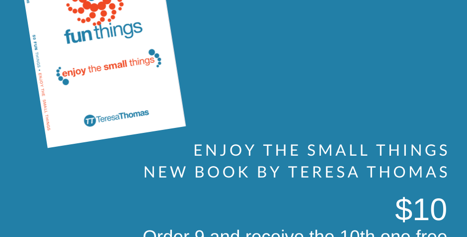 "Order ""Enjoy the Small Things"""