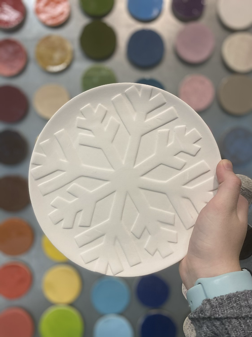 Snowflake Plate -Valley Mall
