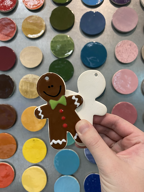 Gingerbread Man Ornament -Valley Mall