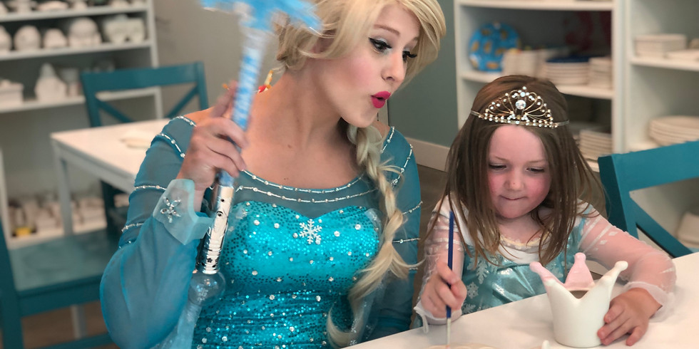 PAINT WITH A PRINCESS