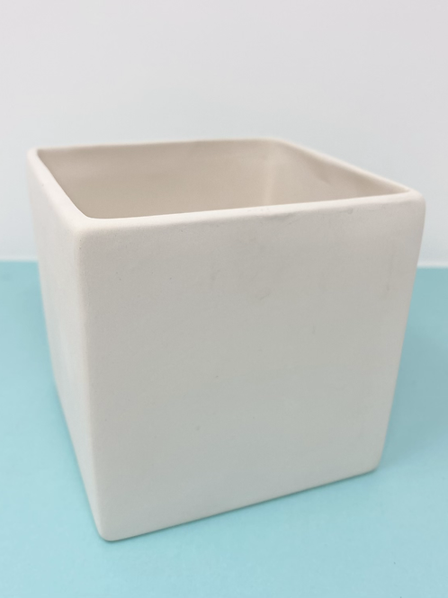 Classic Square Planter/ Pen Cup- Pines Rd