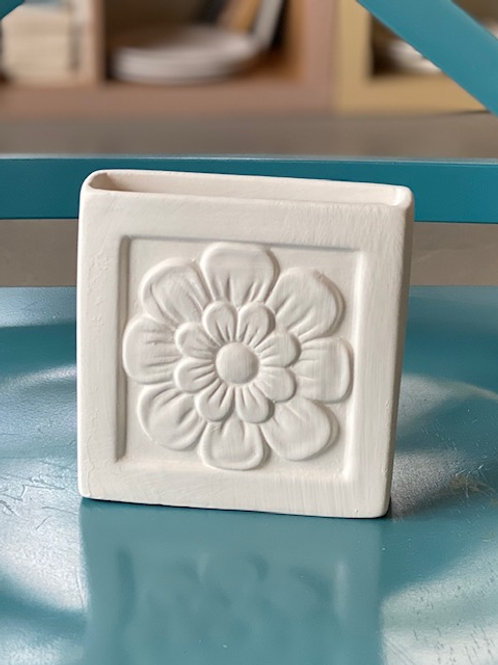Home Decor Flower Pencil Holder- NW BLVD