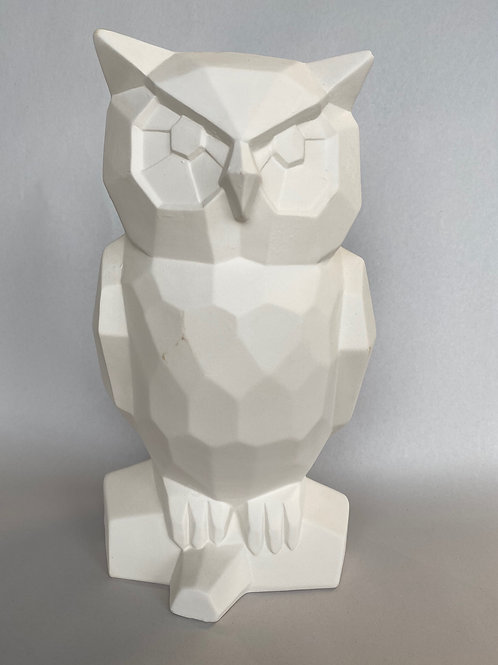 Owl Faceted