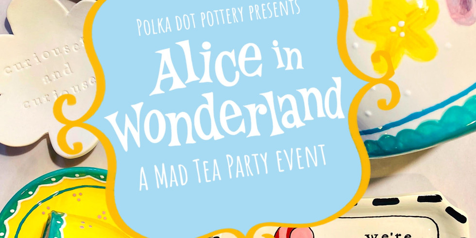 Alice In Wonderland Tea Party Event at Pines