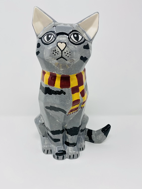 Professor McGonagall Large Faceted Cat (NW Blvd only)