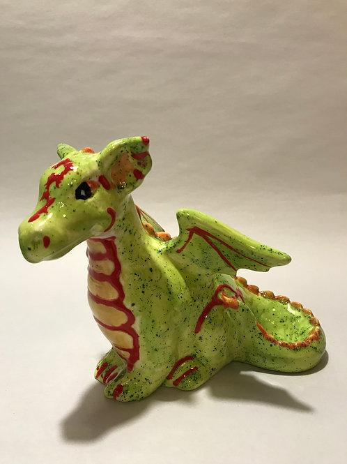 Dragon sitting