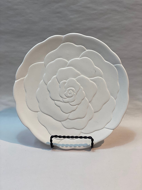 Enchanted Rose Plate