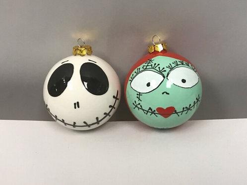 Nightmare Ball Ornament