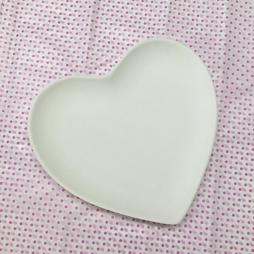 Large Heart Plate- NWBLVD