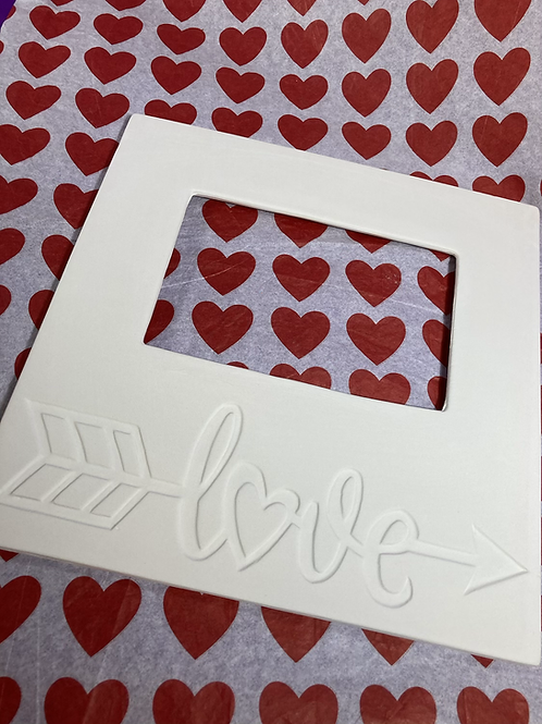 LOVE Photo Frame- Pines rd