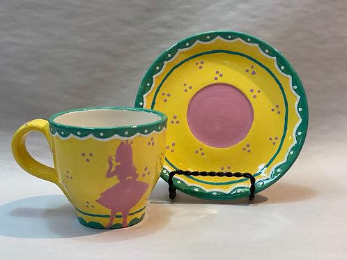 Alice's Tea Cup Set