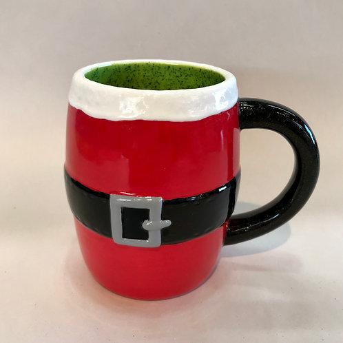 Santa Belt Mug