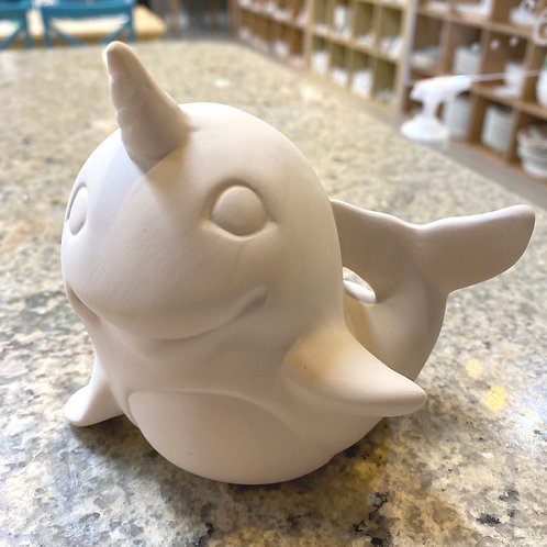 Narwhal Figurine Kit - valley Mall
