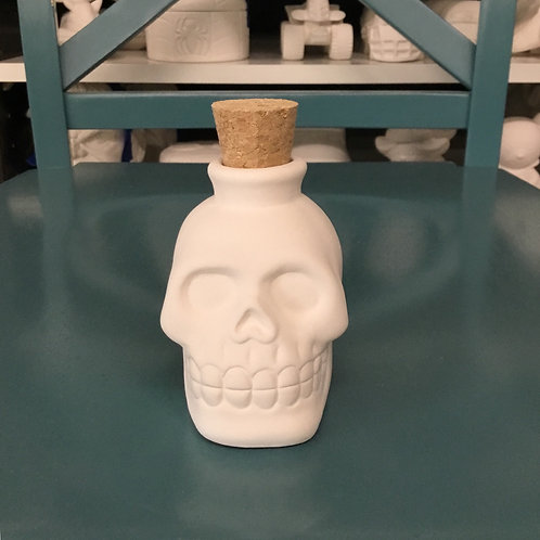 Skull Jar with Cork- NWBLVD