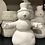 "Thumbnail: 5 1/2"" tall snowman -River Park Square"