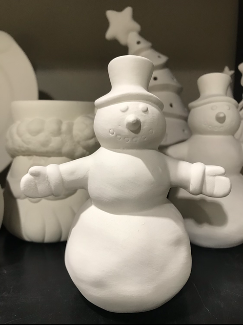 "5 1/2"" tall snowman -River Park Square"