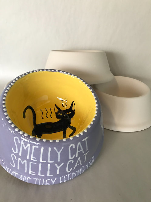 Smelly Cat Pet Dish- Small