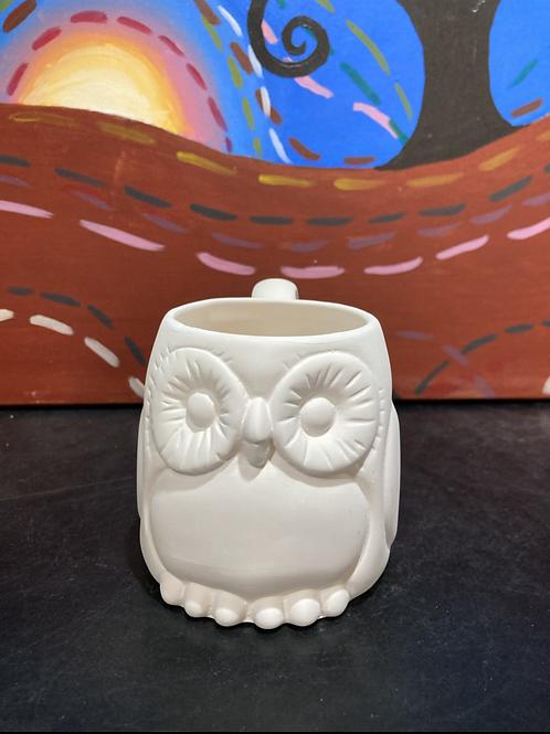 Owl Mug-Kennewick