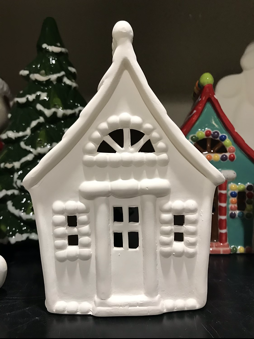 Gingerbread house -River Park Square