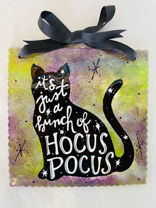 Hocus Pocus Plaque