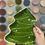 Thumbnail: Christmas Tree Plate -Valley Mall
