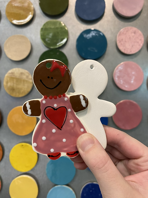 Gingerbread Woman Ornament -Valley Mall