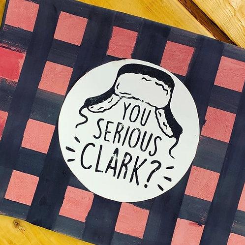 You Serious Clark? Rectangle plate
