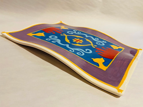 Aladdin's Flying Carpet Plate CCM