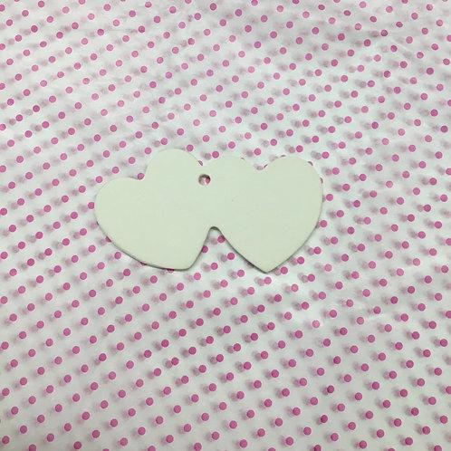 Double heart ornament- NWBLVD