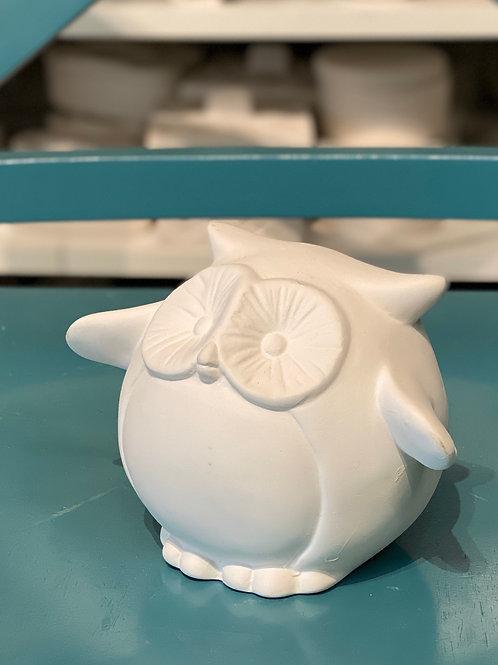 Pudgey Owl Small Bank- Kennewick