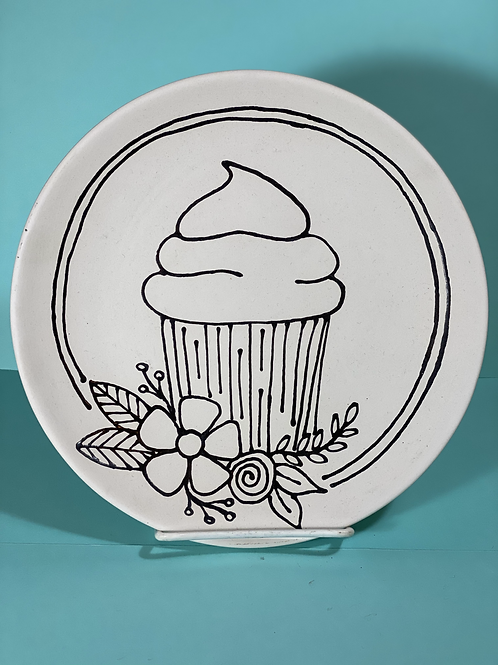 Cupcake Plate designed by Kimberly Geiger