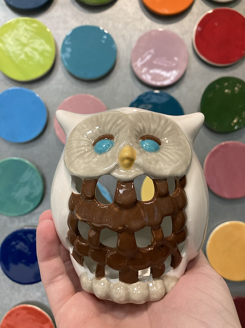 Owl Votive-Valley Mall
