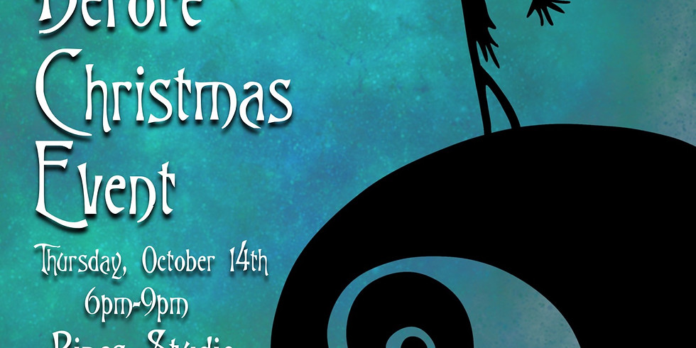 SOLD OUT! Nightmare Before Christmas Pines Studio
