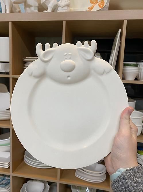 Reindeer Plate -Pines Rd