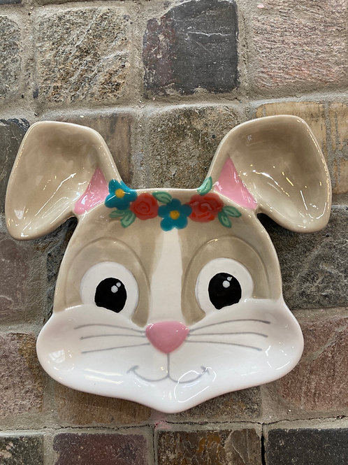 Bunny Face Dish- Pines Rd