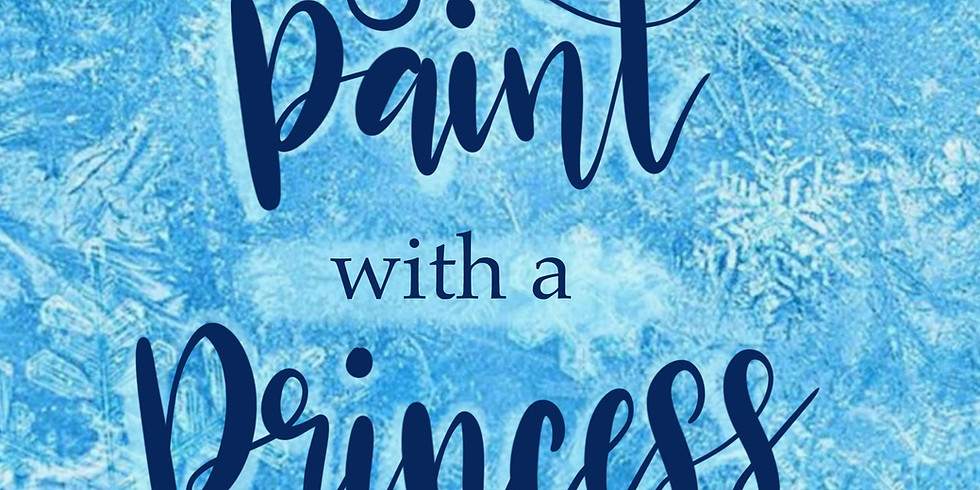SOLD OUT - Paint With a Princess - Frozen 2