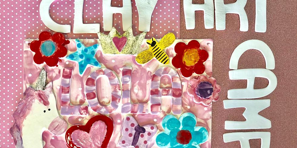 KIDS CAMP Summer Clay Art  (1)