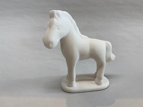 Bullseye Horse Figure