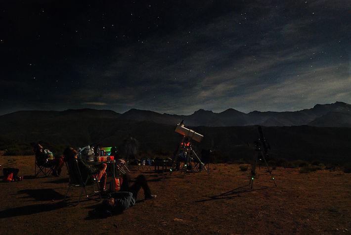 Astronomía en Sierra Nevada