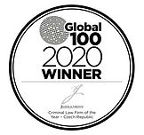 Global 100 - 2020 award logo JELINEK and