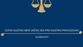 Program COVID - Gastro - Uzavřené provozovny není určen jen pro gastro provozovny