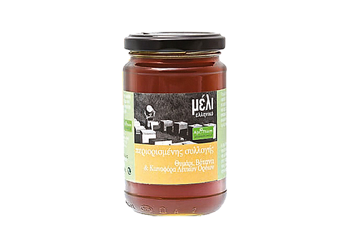 Greek Honey with Thyme & Coniferous Herbs 400gr