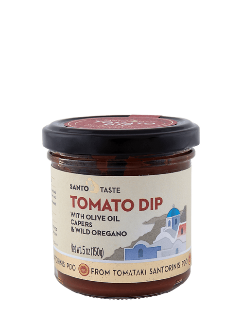 Santorini Tomato Dip with Capers and Wild Oregano