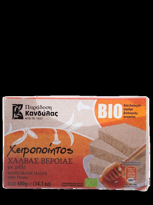 Organic Halva with Raw Greek Honey