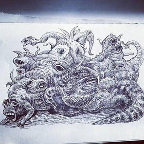 #illustration #drawing #ink #sketchbook #creaturedesign #conceptart #art #sketch #animation
