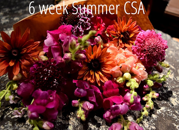 2021 6 Week Summer Bouquet Subscription