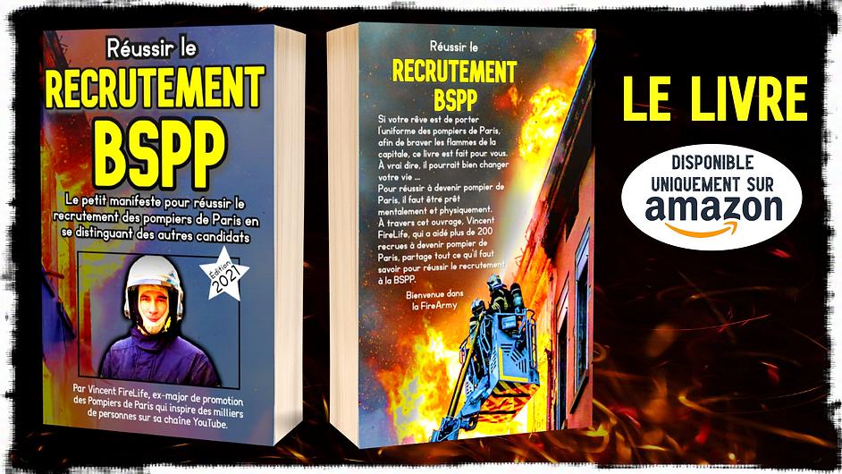 reussir le recrutement BSPP le livre pou